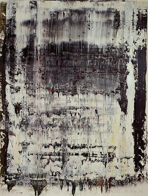 gacougnol:  Gerhard Richter 16 Nov. 2006 Oil on Paper