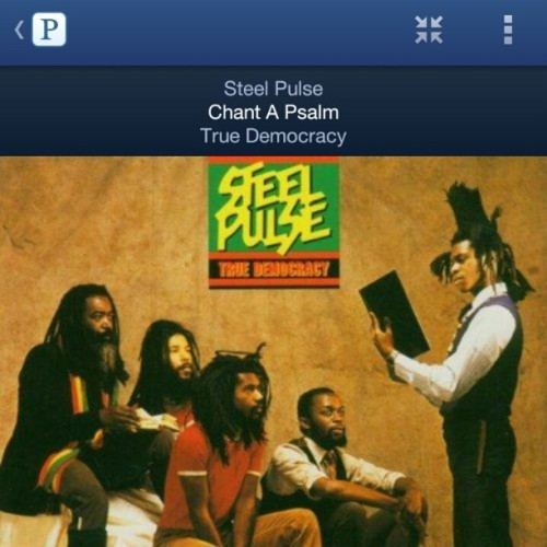 Started my day with this song. ..should be a good day. #steelepulse #reggae #chantapsalm #judah