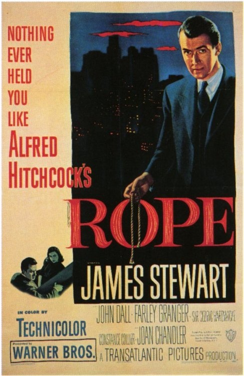 Movies of 2012, #95: Rope Directed by Alfred Hitchcock