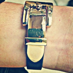 Belt buckle bracelet #fashion #bracelet #accessories #style #stylish