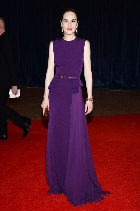 Michelle Dockery in Elie Saab Fall 2013