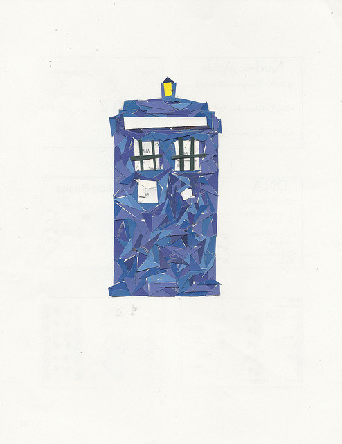 theuncommonplace:  tardis by ed-ingle on Flickr.