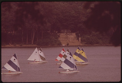 The Fourth Annual Spring Sunfish Regatta Of The Louisville Sailing Club, June 1972 by The U.S. National Archives on Flickr.