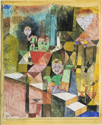 Paul Klee, Introducing the Miracle, 1916