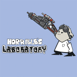 "shirt-alert:  ""Horrible's Laboratory"" tee available today for $10 at www.shirtpunch.com/tv/"