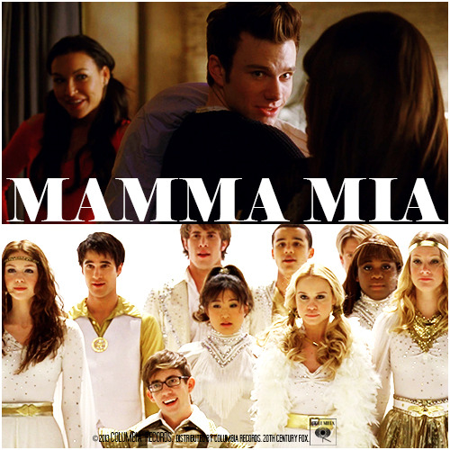 4x17 Guilty Pleasures | Mamma Mia Requested Alternative Cover Request by klainebowsaredelicious