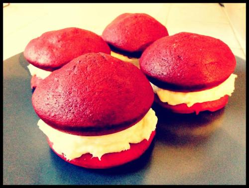 Red Velvet Whoopie PiesAs I sit here enjoying a cup of tea (Yes, I know I LOVE me some coffee but every once and a while I…View Postshared via WordPress.com