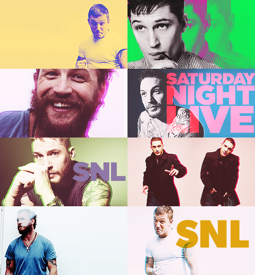 if tom hardy hosted SNL