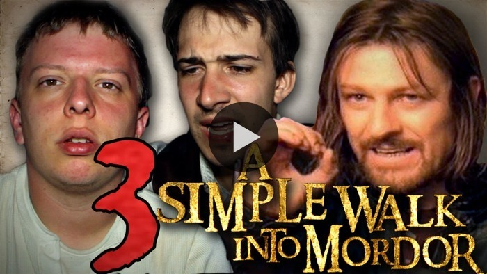 Episode 3 of A Simple Walk Into Mordor is here! On the third part of their journey, Chris and Kerry suffer through ever-worsening blisters, dodge cars, and take on a 70km stretch of highway. WATCH NOW ON BLIP: Blisters & Balrogs!