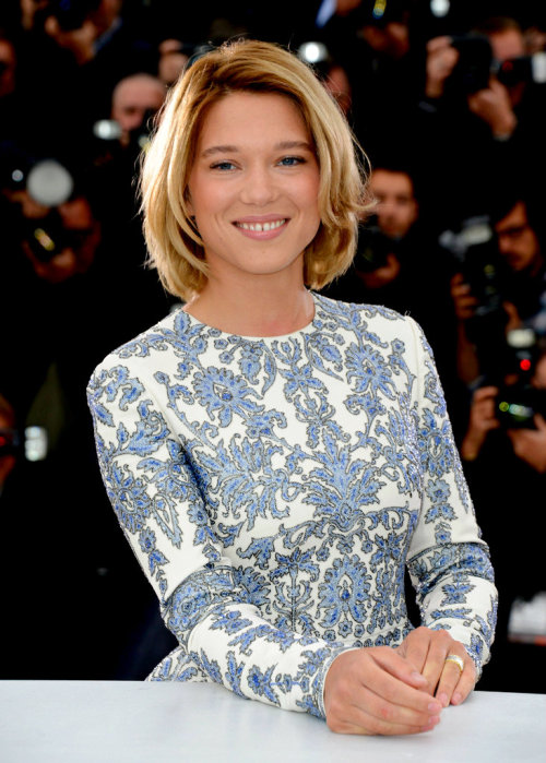 Léa Seydoux at the Grand Central photocall at the 66th Annual Cannes Film Festival (May 18th, 2013
