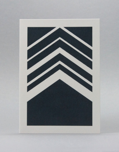 Karte Design Fabrik - Herringbone Navy Card