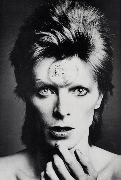 David Bowie photographed by Masayoshi Sukita, 1973