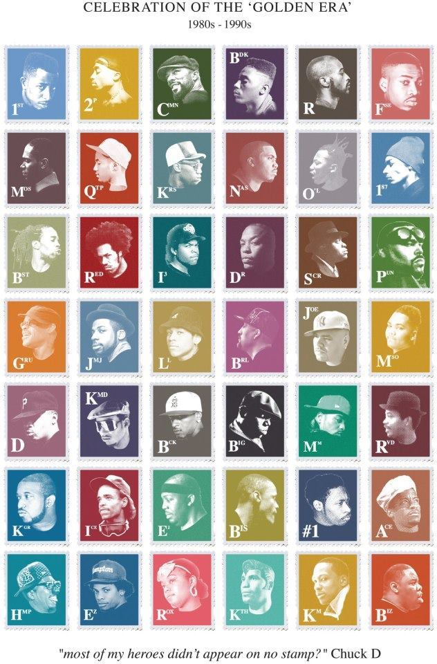 therareelement:  Most of my heros dont appear on no stamp - Chuck D