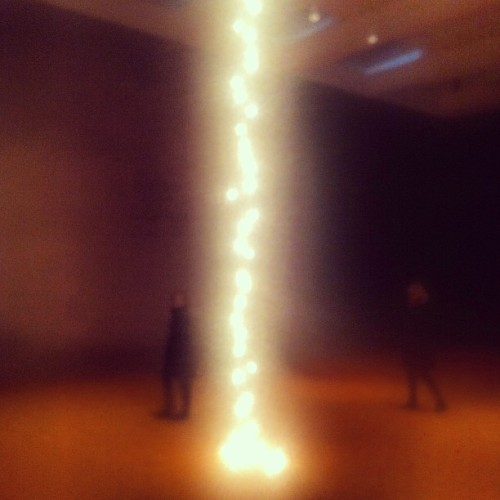 Felix Gonzalez-Torres, Untitled (Couple), 1993 installation at the New Museum