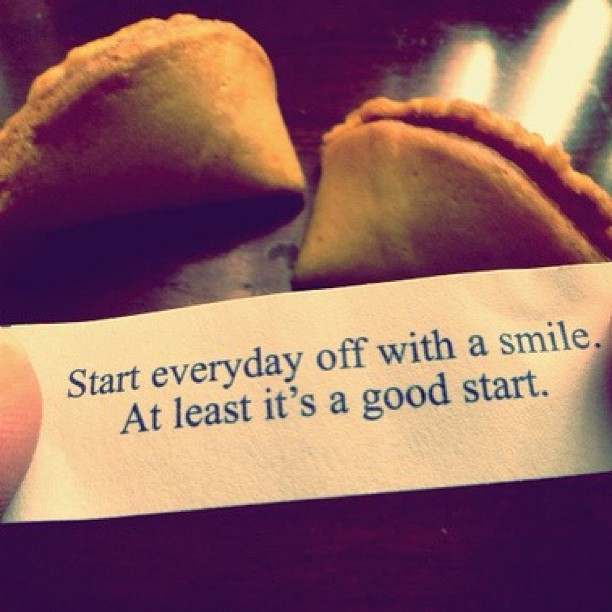 Start every day off with a smile. At least it's a good start. #life #newday #smile #good #bepositive #lifelessons #tumblr #igers #instagood