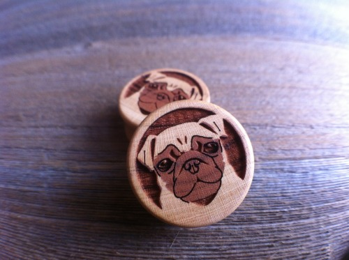 "plugporn:  1"" Pug Plugs Made by Omerica Organic"