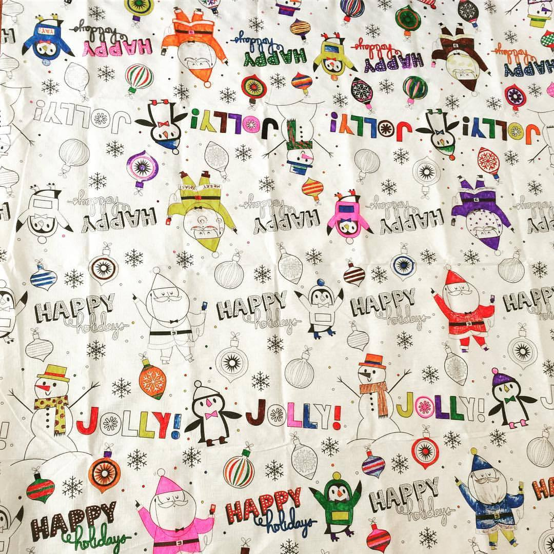 Happy Holidays!!! :D #christmas #happyholidays #2016 #coloring #crayolamarkers #crayola