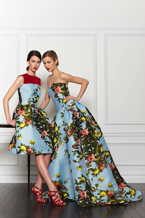 sexyqueen:  Josephine Skriver & Ruby Aldridge for Carolina Herrera