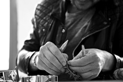 allsaints:  BEHIND THE SCENES: JEWELLERY