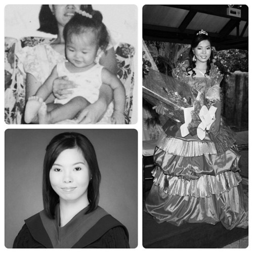 bits & pieces of my 22 wonderful years :)) #reminiscing #baby #debut #graduation