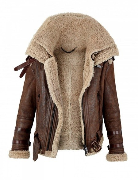 style-cool-ture:  Burberry Shearling Coat