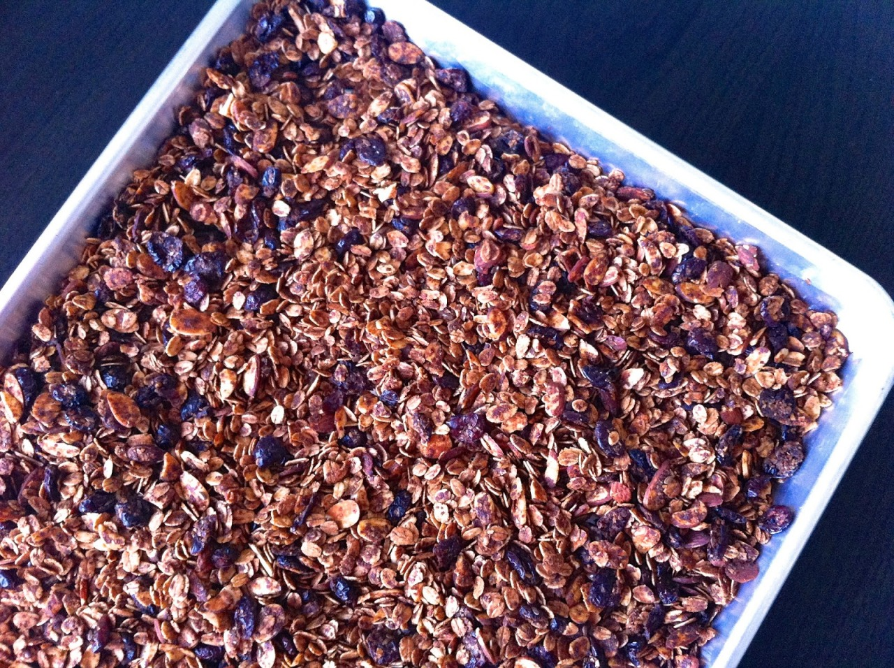 Low Sugar Cinnamon Cranberry Granola by Javelin Warrior