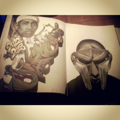 Crast1 NTA's black book MF DOOM. for more Crast1 and the rest of the NTA clan check out http://ntacrew.blogspot.com