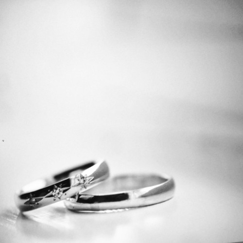 The rings (from the latest wedding I shot with @melaniamunx)
