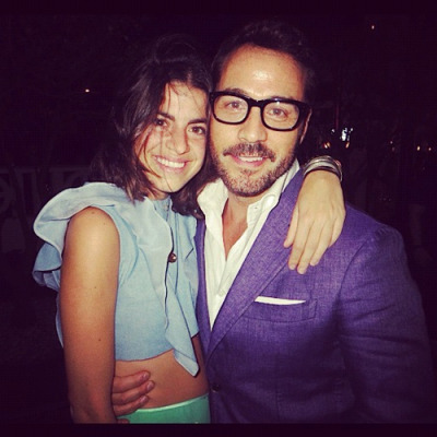 poplipps:  The @Manrepeller and @Jeremypiven #Miami