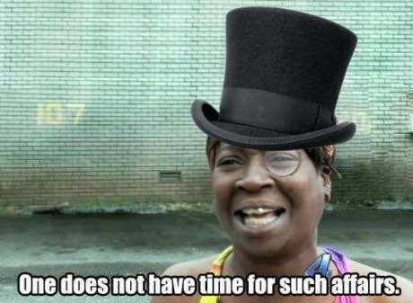 Get on Sweet Brown's level, y'all.