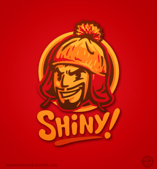 """Shiny""Now in red!LINK"