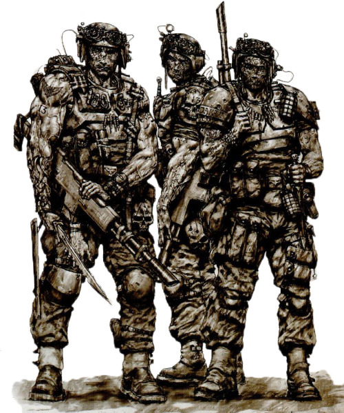 Veteran Guardsmen Bad Asses