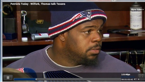 Watch Patriots Pro Bowl nose tackle @Wilfork75 discuss his team's matchup