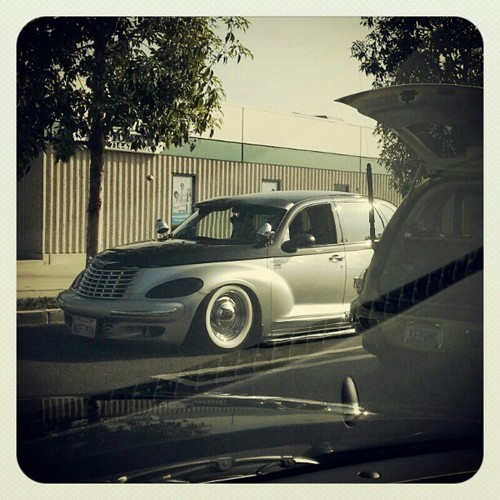 the-notable:  Holy cow Batman! I Actually found a good looking #PTCruiser #carpics #brea
