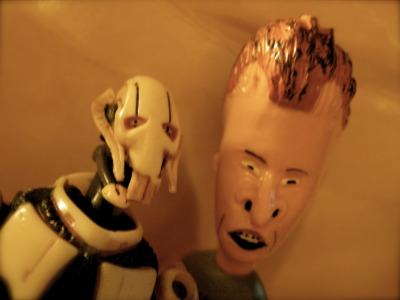 Grievous and Butthead.