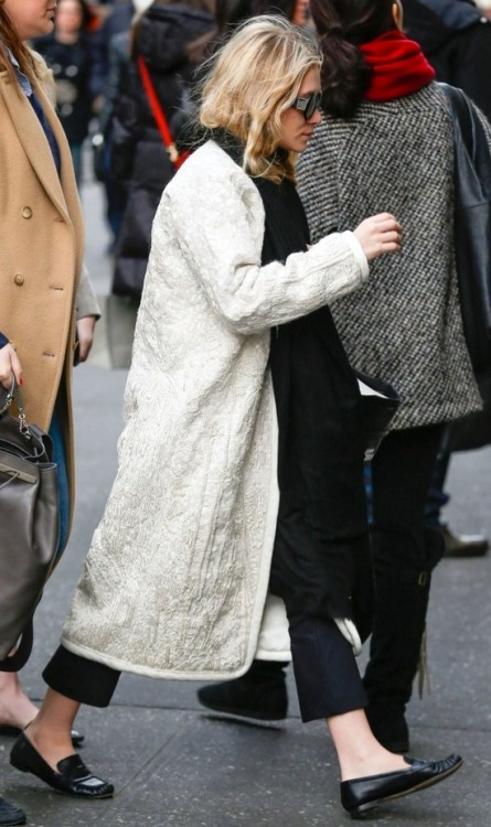 Oh my god that coat..