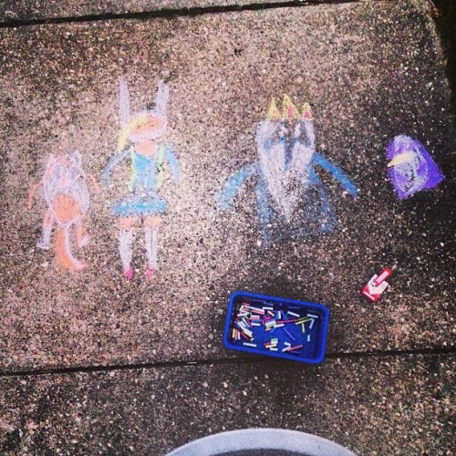 Adventure time, come on grab your chalk