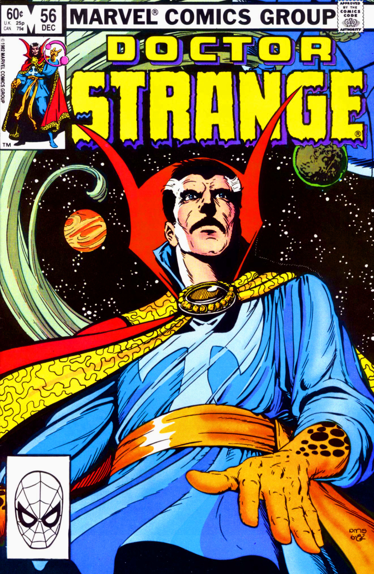 beatsnrants:  boombapbeatnik:  Doctor Strange #56 (Volume 2)