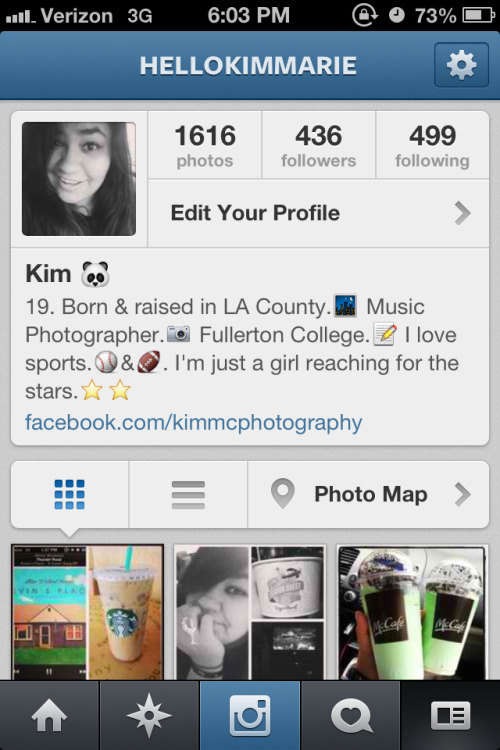 Follow my Instagram! I follow back. :)
