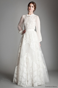 awesomeweddingdresses:  http://www.weddinginspirasi.com/2013/05/09/temperley-bridal-gowns-2013-titania-collection/2/