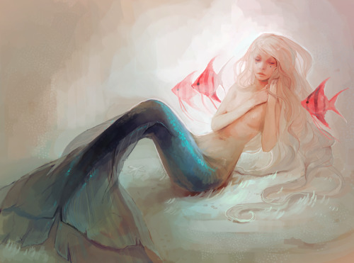 imfuckingpkc:  little mermaid by ~Chaotic-Muffin
