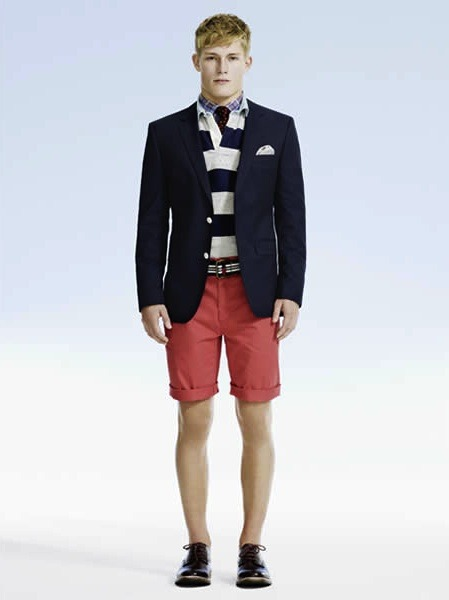 mensfashionworld:  House of Fraser S/S 2013 lookbook  Boom!