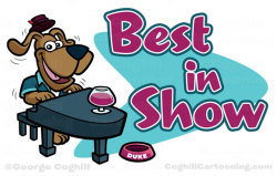 Best In Show cartoon logoView Post