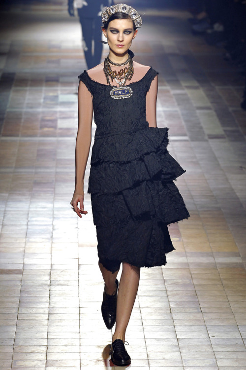 vogue:  Lanvin Fall 2013 Photo: Marcus Tondo/InDigitalteam/GoRunway.com