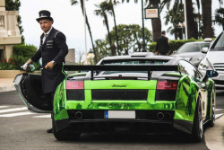 themanliness:  Chrome Green Gallardo | Source | More