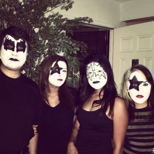 Back when we went to KISS for papa Vertiz!! Miss this family. #fbf #flashbackfriday #KISS #music #inconcert #live #family