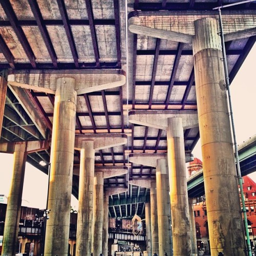 megawillpower:  #rva #bridge (at 95 Bridge)