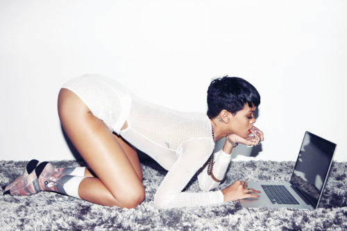 Rihanna for Complex magazine