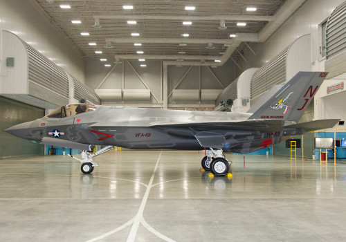 "Navy F-35 Joint Strike Fighter gets VFA-101 ""Grim Reapers"" squadron markings"