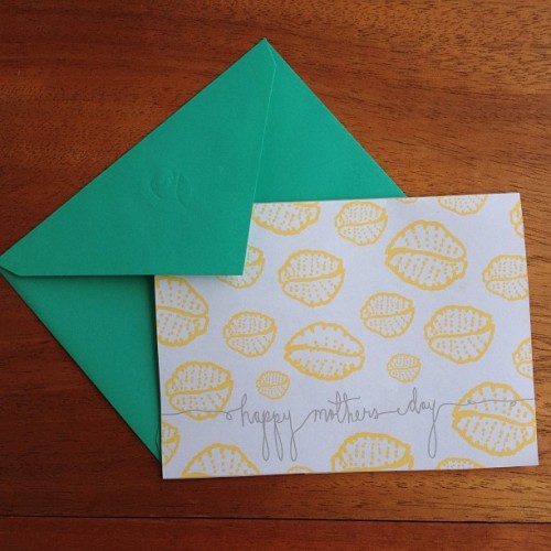 Making fun patterns and cards for the upcoming occasions 💕 #ashleyjohnstondesign #stationary #mothersday #design #illustration #cowrie (at The Coop )